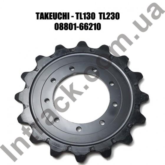 Звездочка для минипогрузчиков TAKEUCHI TL130 TL230
