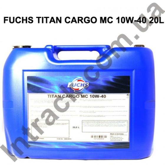 Моторное масло FUCHS TITAN CARGO MC 10W-40 20L
