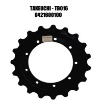 Звездочка для экскаватора TAKEUCHI TB016