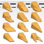 Зубья, коронки, адаптеры