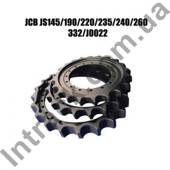 Ведущее колесо (звездочка ведущая) JCB JS145 JS190 JS220 (после 2010 года) JS235 JS240 (после 2010 г.) JS260 (после 2012)