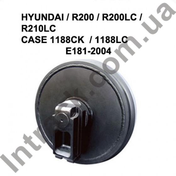 Направляющее колесо (ленивец) HYUNDAI / R200 / R200LC / R210LC  CASE 1188CK  / 1188LC