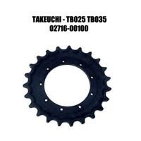 Звездочка для экскаватора TAKEUCHI TB025 TB035