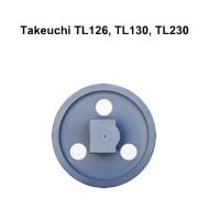 Направляющее колесо (ленивец) Takeuchi TL 126 TL 130 TL 230