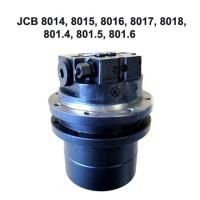 Гидромотор хода c редуктором для JCB 801