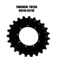 Звездочка для экскаватора TAKEUCHI TB23R